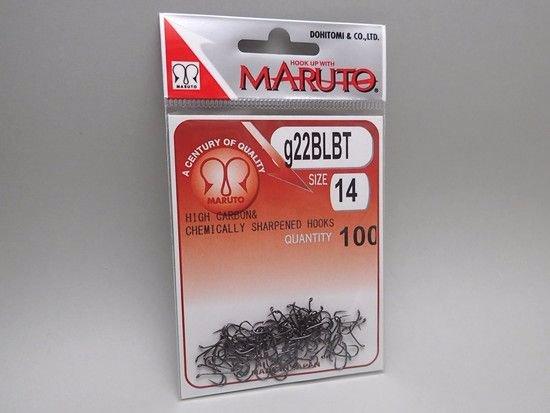 タイイング(毛鉤製作) フライフック(バーブレス)-マルト フライフック g22BLBT #14 100本入り(ニンフ・エッグ用バーブレス)
