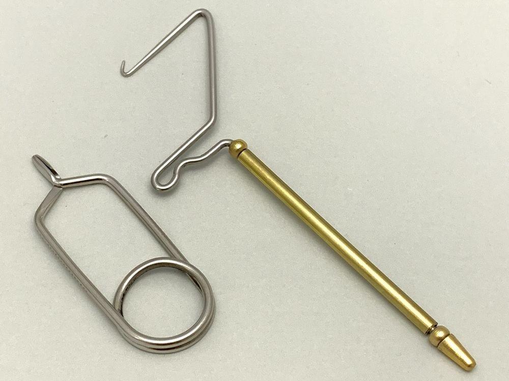 タイイング(毛鉤製作) タイイングバイス・ツール-n-VISIONセレクト テンカラ毛鉤タイイングツールセット(アキスコ製)