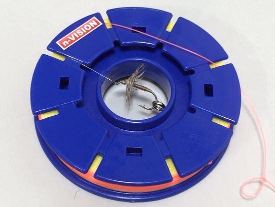 テンカラ用品 -n-VISION テンカラ用仕掛巻70mm 2個セット フックキーパー付!【大ヒット商品!】