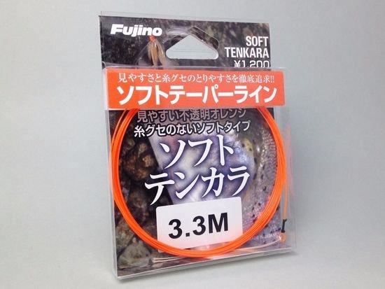テンカラライン・ハリス ライン-フジノ テーパーライン ソフトテンカラ 3.3m  吉田孝氏の開発協力商品