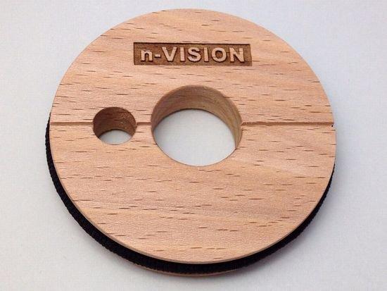 ▲n-VISION 天然木製テンカラ用仕掛巻・ブナ