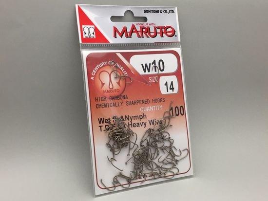 タイイング(毛鉤製作) フライフック(沈める系)-マルト フライフック w10 #14 100本入り(ウェットフライ・ニンフ用)