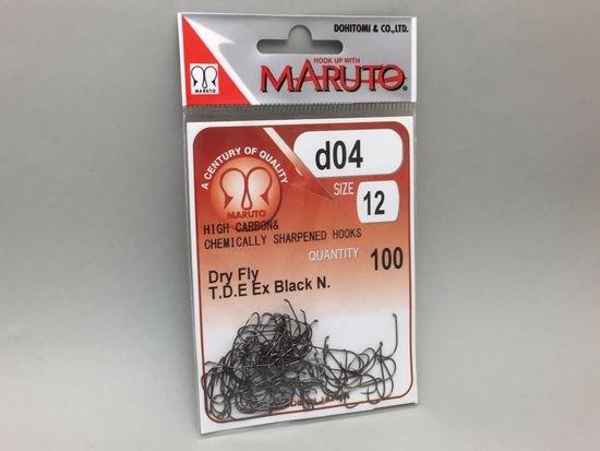 タイイング(毛鉤製作) フライフック(バーブレス)-マルト フライフック d04 #12 100本入り(ドライ・バーブレス)