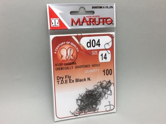 タイイング(毛鉤製作) フライフック(バーブレス)-マルト フライフック d04 #14 100本入り(ドライ・バーブレス)