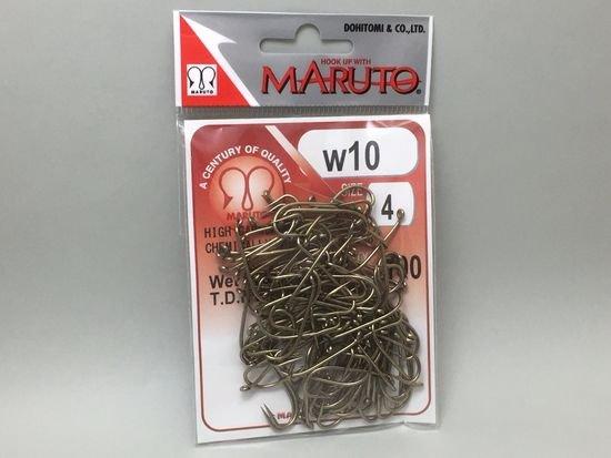 タイイング(毛鉤製作) フライフック(沈める系)-マルト フライフック w10 #4 100本入り(ウェットフライ・ニンフ用)