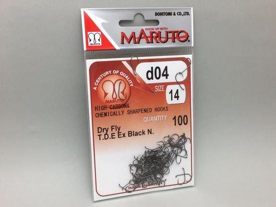 タイイング(毛鉤製作) フライフック(バーブレス)-マルト フライフック d04 #10 100本入り(ドライ・バーブレス)