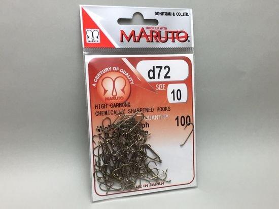 タイイング(毛鉤製作) フライフック(ドライ系)-マルト フライフック d72 #10 100本入り(ロング)