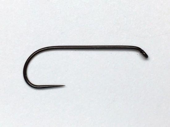 タイイング(毛鉤製作) フライフック(バーブレス)-マルト フライフック d21 #10 100本入り(ドライ・バーブレス・ロング)