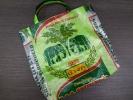 タイの米袋ビニールバッグ/楽象ハンドメイド