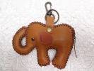象のキーホルダー/楽象ハンドメイド