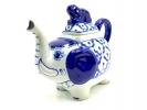 ブルー・ホワイト陶器