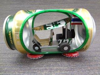 アルミ缶inトゥクトゥク・Chang・チャンビール【3】