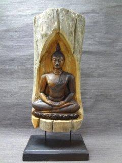 木製仏像の置物【2】