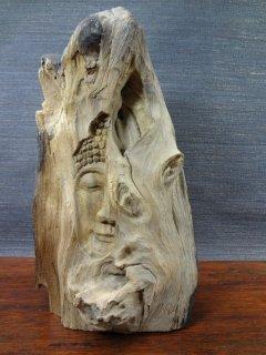木製仏像の置物【3】