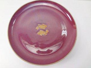 紫セラドン・平皿(大サイズ)【1】