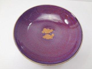 紫セラドン・とり皿【3】