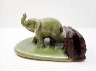 象のカードホルダー【1】
