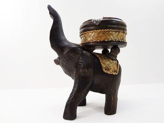 バンブー&ウッドの象さん灰皿【13】