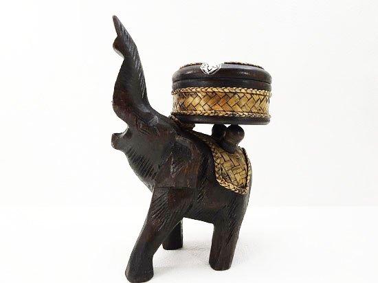 バンブー&ウッドの象さん灰皿【15】
