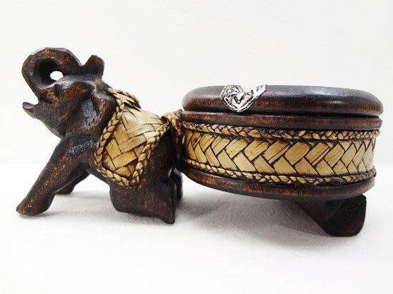 バンブー&ウッドの象さん灰皿【12】