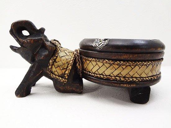 バンブー&ウッドの象さん灰皿【11】