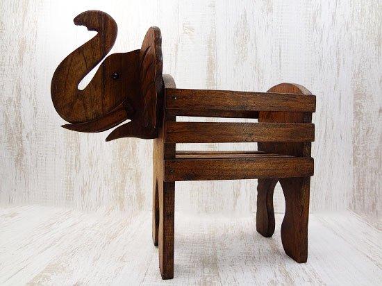 木製・象のラック【1】