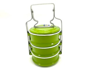 ホーロー弁当箱・黄緑