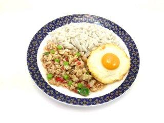 ミニチュア食品サンプル・ガパオライス