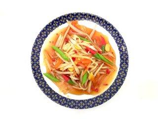 ミニチュア食品サンプル・ソムタム