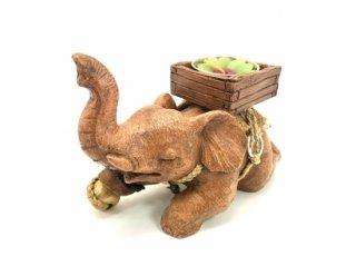 象のキャンドルホルダー【1】