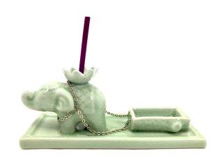 象のお香ホルダー