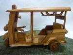 木製トゥクトゥク・特大サイズ【1】