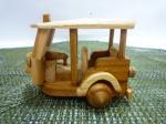 木製トゥクトゥク・小サイズ