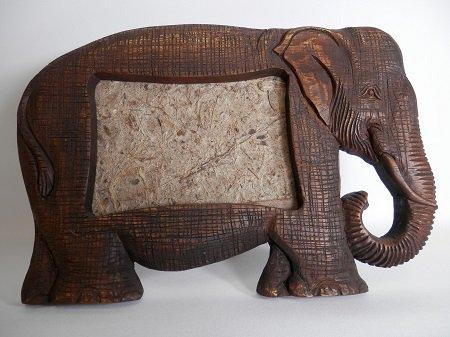 象のフォトフレーム【3】