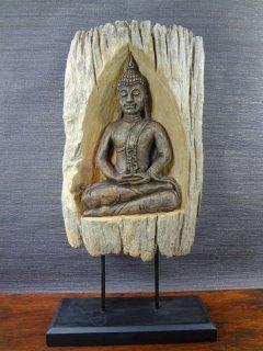 木製仏像の置物【1】
