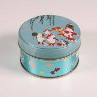 絢爛茶 缶入り(金魚)  ティーパック10包入