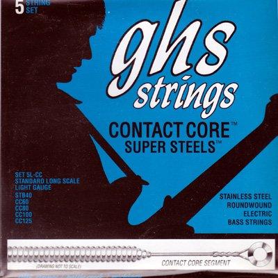 GHS(ジー・エイチ・エス)  Contact Core Super Steels 5L-CC (5弦ベース用)