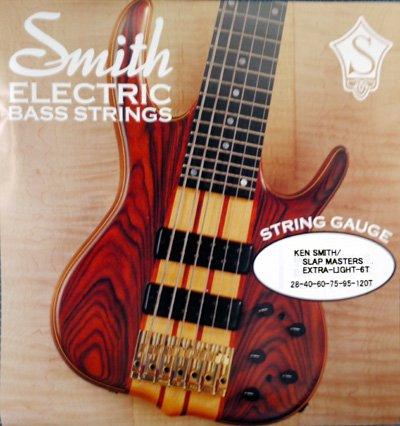 Ken Smith(ケン・スミス) Slap Masters 28-120 (6弦ベース用)