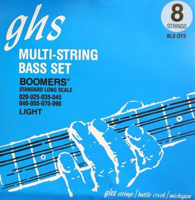 GHS(ジー・エイチ・エス) 8LS-DYB (8弦ベース用)