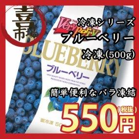 「喜八郎市場 冷凍シリーズ」ノースイ)冷凍フルーツ ブルーベリー(500g)