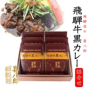飛騨牛 黒カレーセット (6食詰合せ)【送料無料】