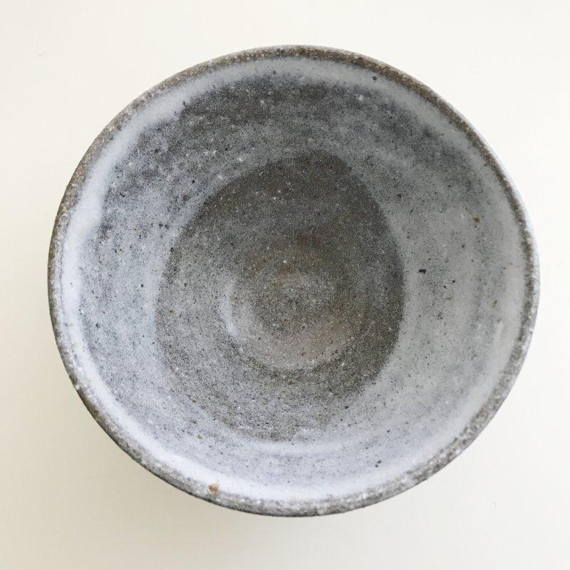 藤原裕二 卯の斑釉 茶碗