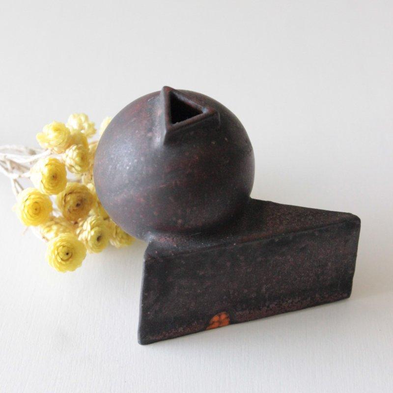 片瀬和弘 花器 ボール