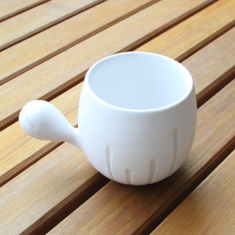 稲葉周子 ひとこぶカップ ホワイト