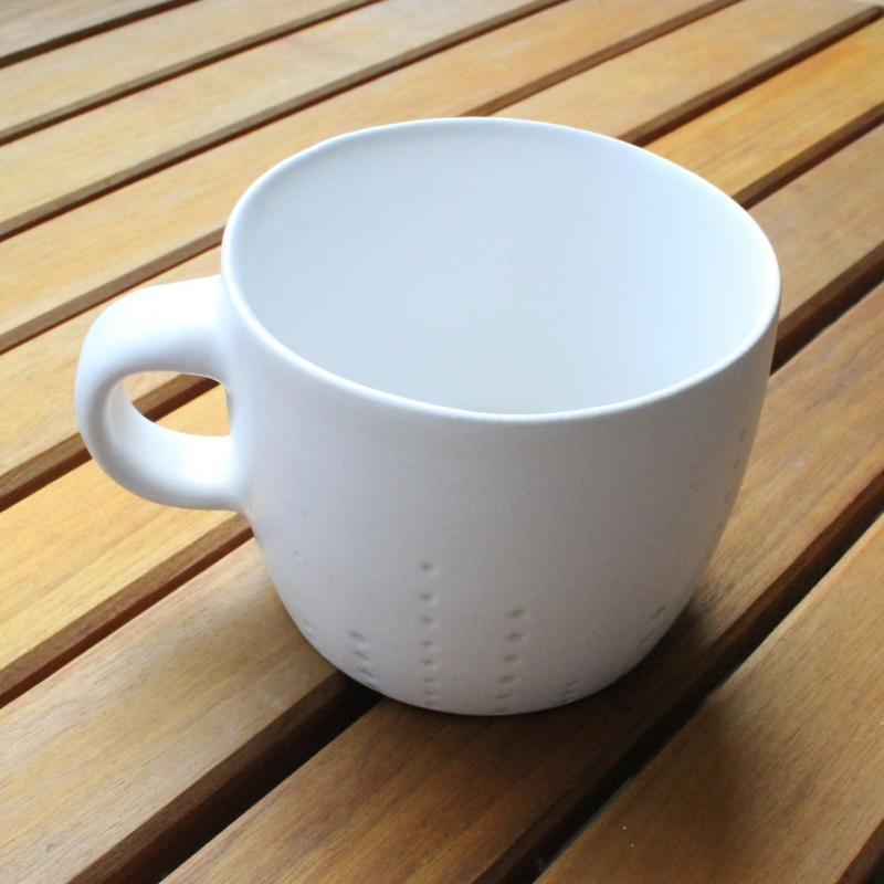 稲葉周子 ドットビックカップ ホワイト
