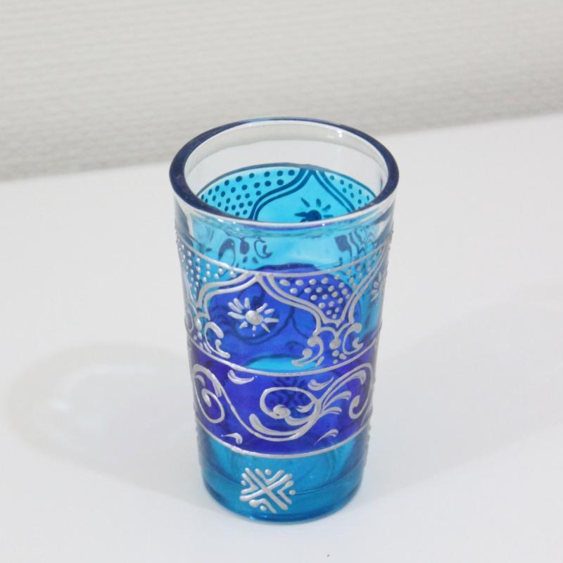 チャイグラス ケス ライトブルー×ブルー