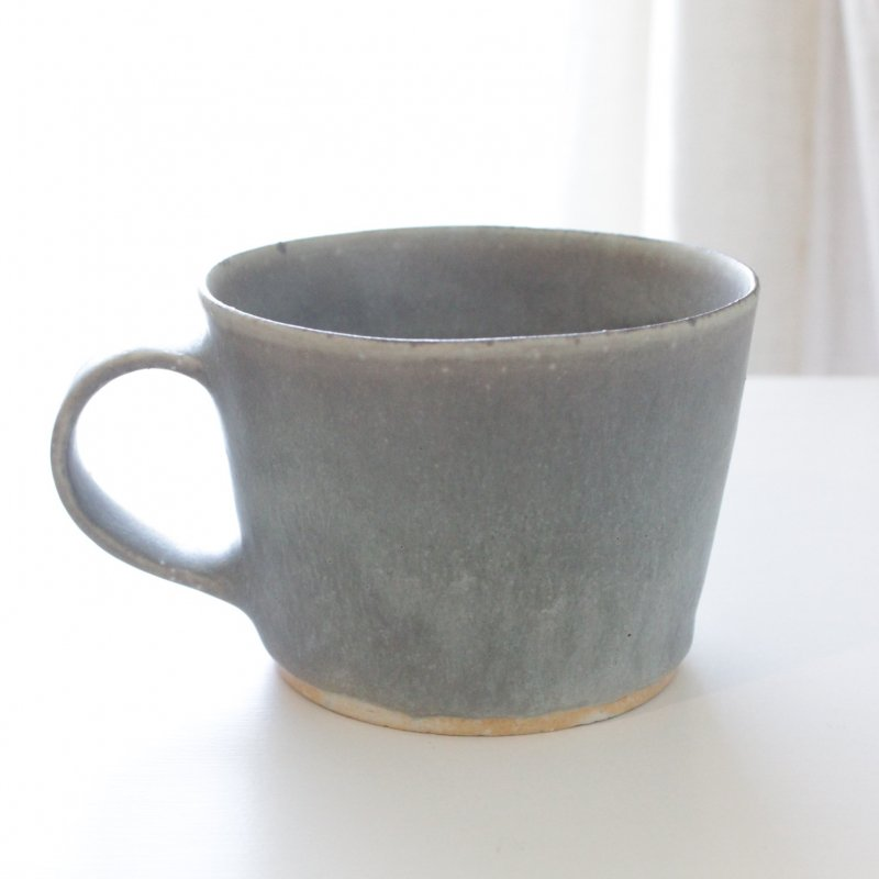 徳山久見子 <korat> マグカップ グレー