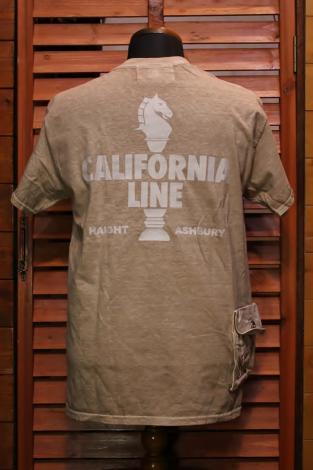 CALIFORNIA LINE カリフォルニアライン CARGO POCKET T-SHIRTS BEIGE