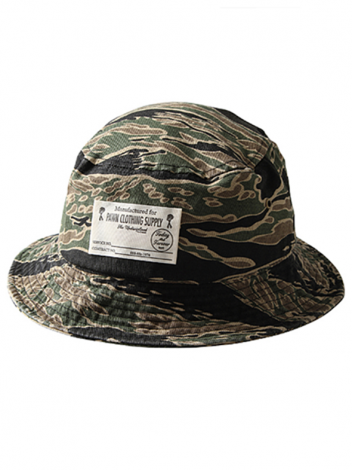 PAWN パーン NOMADS CAMO BUCKET HAT 92904 TIGER CAMO
