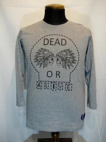 Smart Spice スマートスパイス DEAD OR ALIVE ラグランスリーブ Tシャツ STC0031